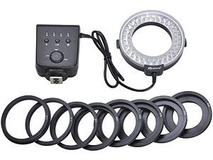 Пример кольцевого осветителя