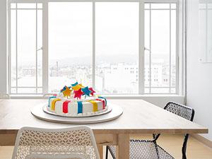 Вращающийся столик-подставка для блюд и тортов Lazy Susan