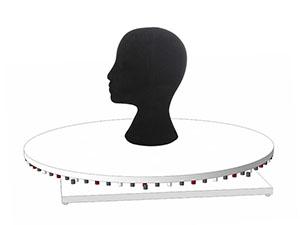 Фотосъемка головных уборов на манекене на поворотном столе 360 градусов